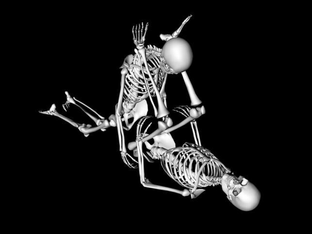 Pozycja seksualna Zanurzenie. Kobieta kładzie się na plecach, wyprostowane nogi unosi w górę. Mężczyzna klęka przed nią, wspierając się rękoma ułożonymi na płasko po obu stronach partnerki. Mężczyzna przejmuje inicjatywę. Wiele kobiet lubi tę pozycję gdyż stymulowany jest tu punkt G.