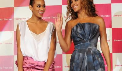 Beyonce i Solange Knowles.