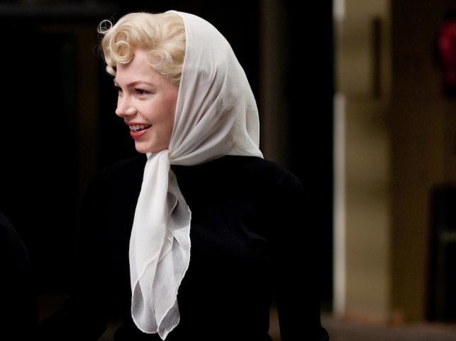 """Najlepsza pierwszoplanowa rola żeńska: Michelle Williams (""""Mój tydzień z Marilyn"""")"""