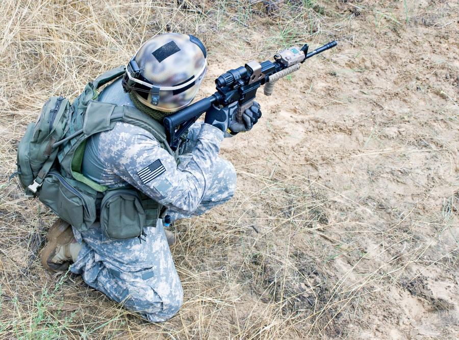 żołnierz usa amerykański marine
