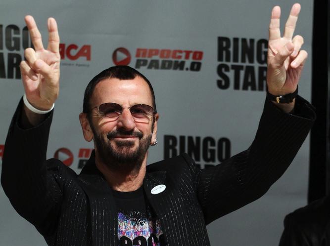 Ringo Starr z pomocą Dave\'a Stewarta