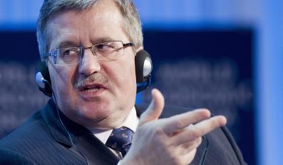 Prezydent o ACTA: Oddzielić odpowiedzialność internautów od frm