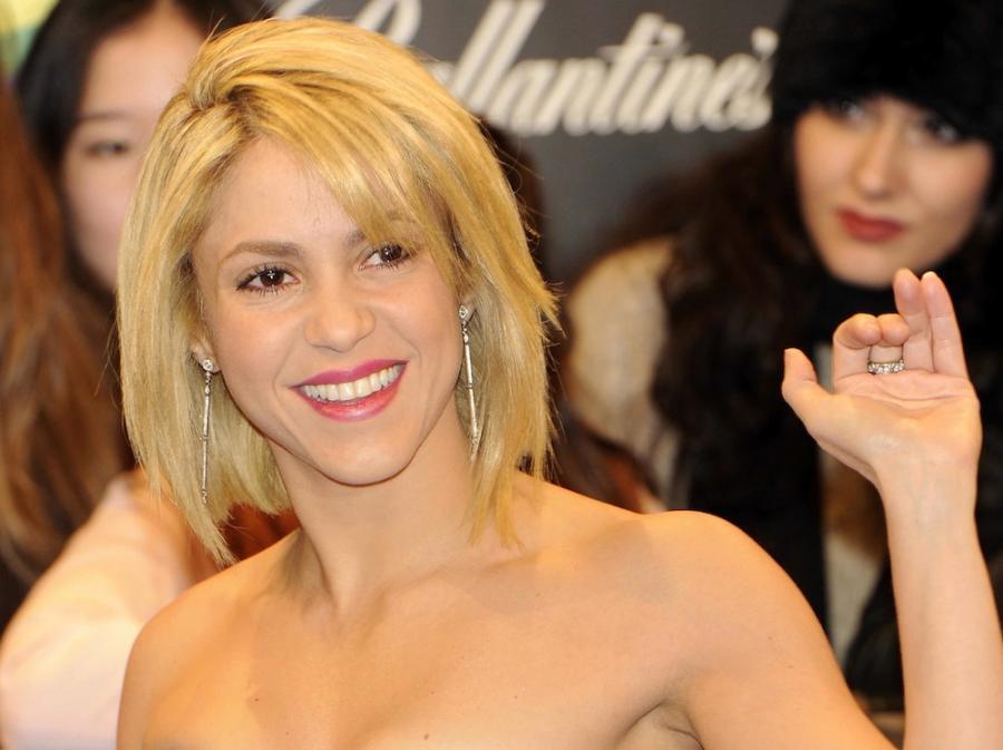 Shakira w obozie Jaya-Z