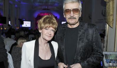 Maria Czubaszek z mężem Wojciechem Karolakiem