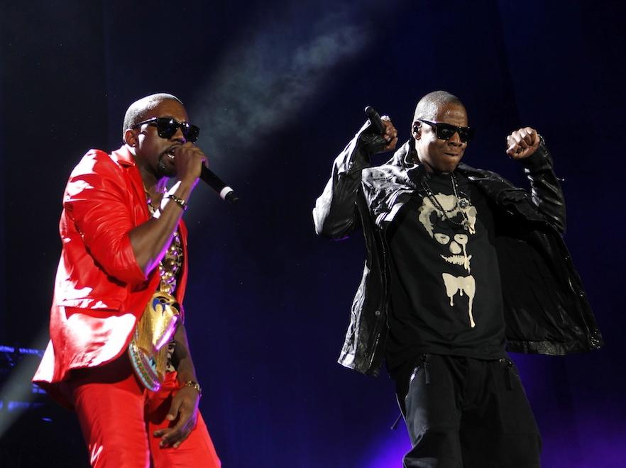 Kanye West i Jay-Z z Los Angeles w Paryżu