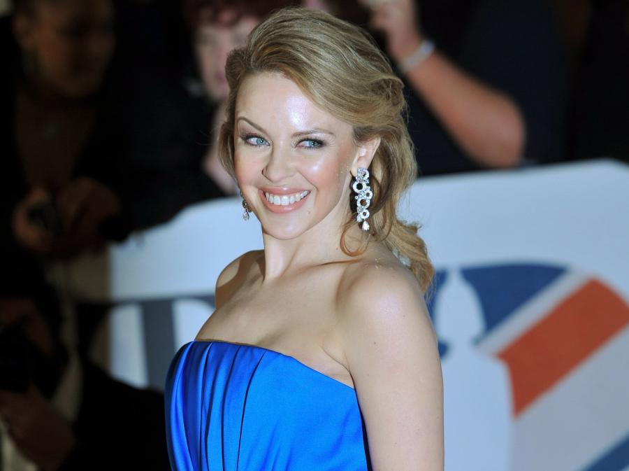 Kylie Minogue na gali BRIT Awards