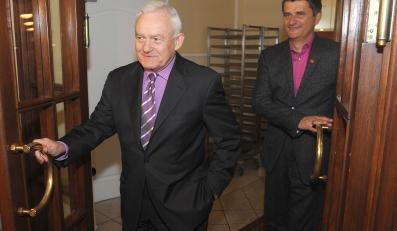Leszek Miller, szef klubu SLD