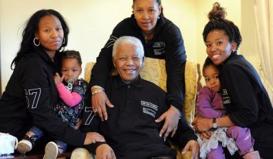 Tak Nelson Mandela świętował 93. urodziny