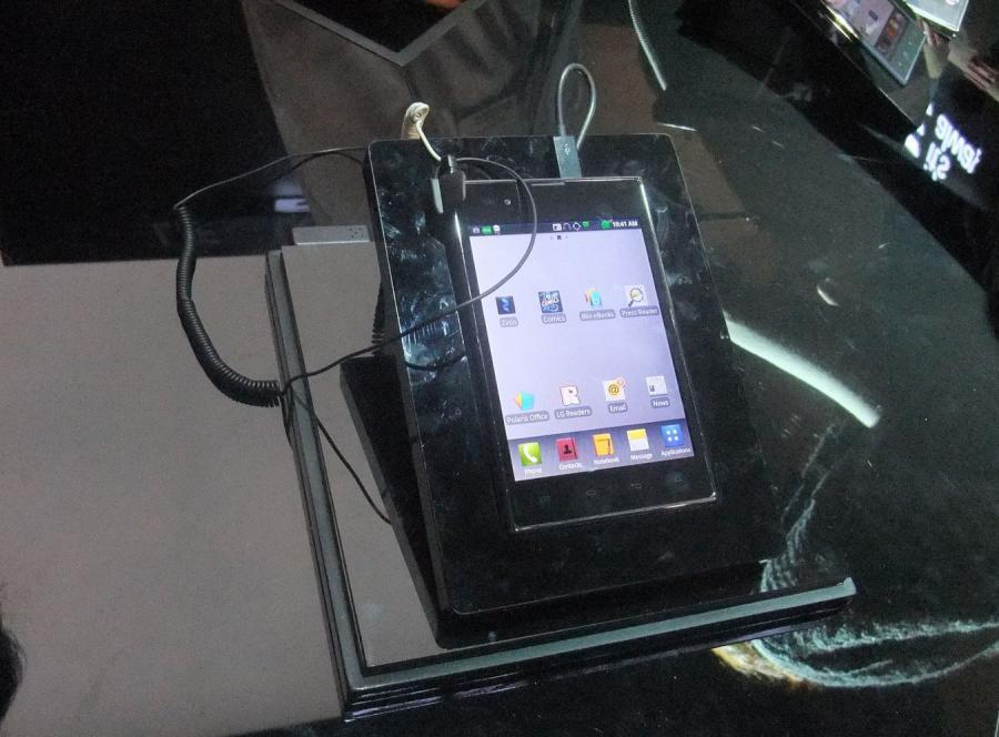 LG Vu, czyli odpowiedź na Samsunga Note
