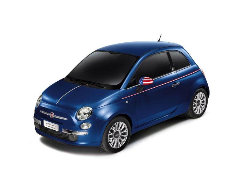 Fiat 500 America do zdobycia na Twitterze