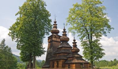 Drewniana cerkiew w Kwiatoniu z XVIII wieku