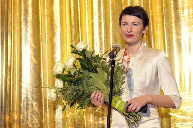 """Ilona Batko, siostra Justyny Kowalczyk, na gali Kobieta Roku 2011 miesięcznika """"Twój Styl"""""""