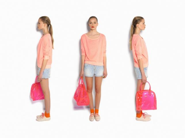 Neon flash - lookbook Pull&Bear na lato 2012