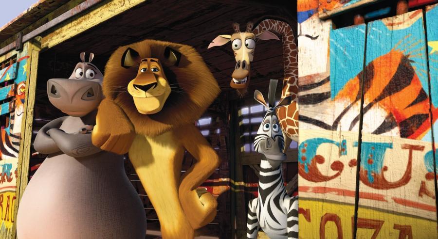 Triumf zwierzaków z Madagaskaru