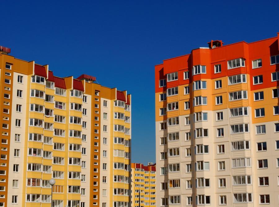 OSiedle bloków mieszkaniowych