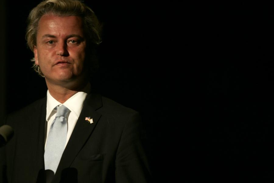 Szef holenderskiej Partii na rzecz Wolności Geert Wilders