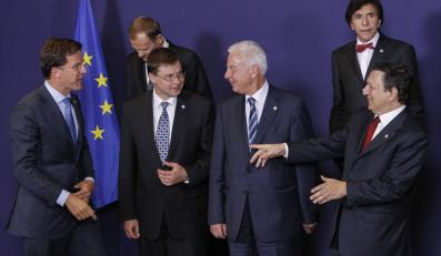 Premier Donald Tusk wśród uczestników szczytu Unii Europejskiej w Brukseli