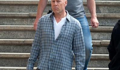 """Bruce Willis na planie """"Szklanej pułapki"""" w Budapeszcie"""