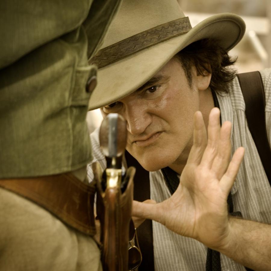 Quentin Tarantino na planie