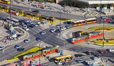 Warszawa centrum autobus