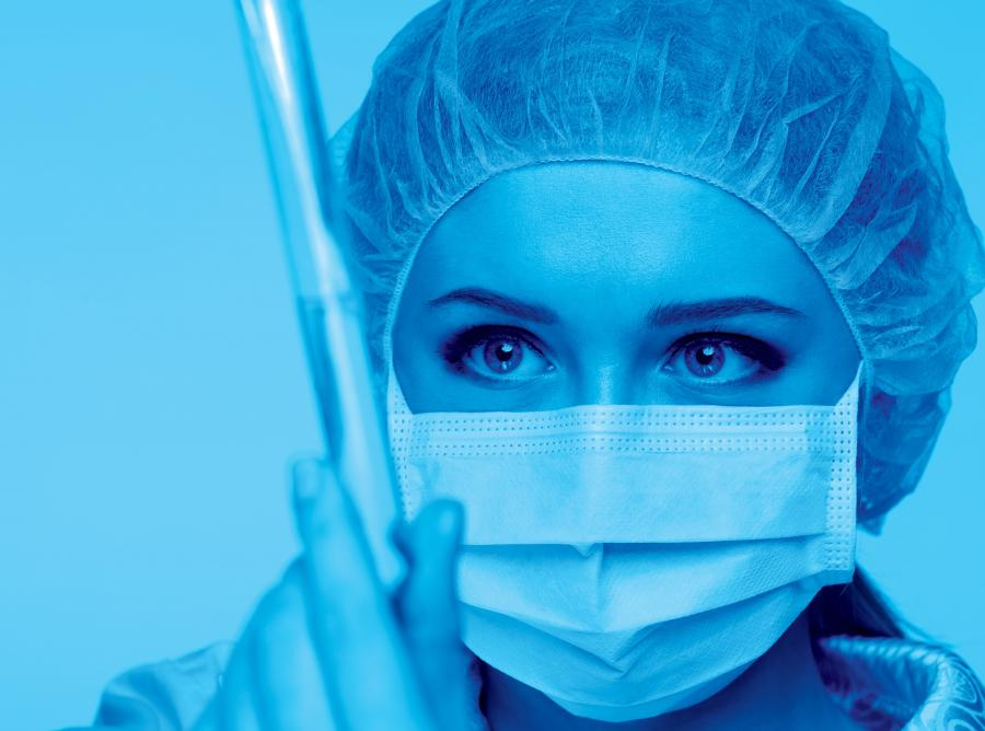 Lekarz w laboratorium - zdjęcie ilustracyjne