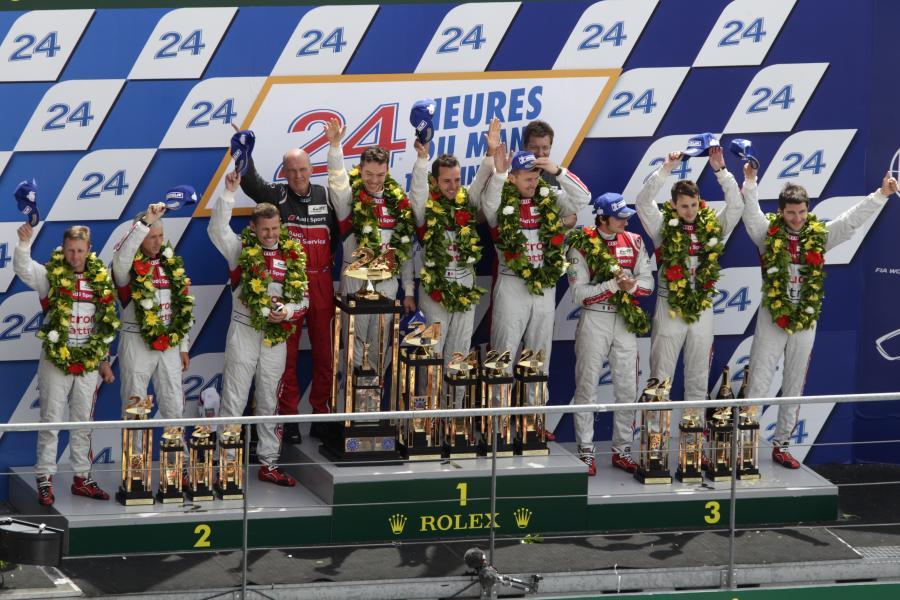 Audi w Le Mans