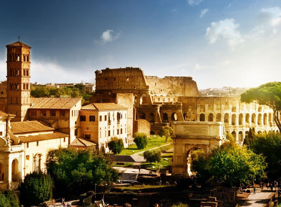 Upały w Rzymie