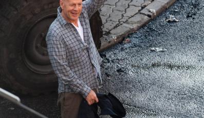 """Bruce Willis na planie """"Szklanej pułapki 5"""""""