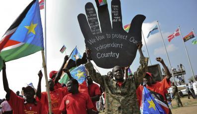 Mieszkańcy Dżuby świętują rocznicę niepodległości Sudanu Południowego