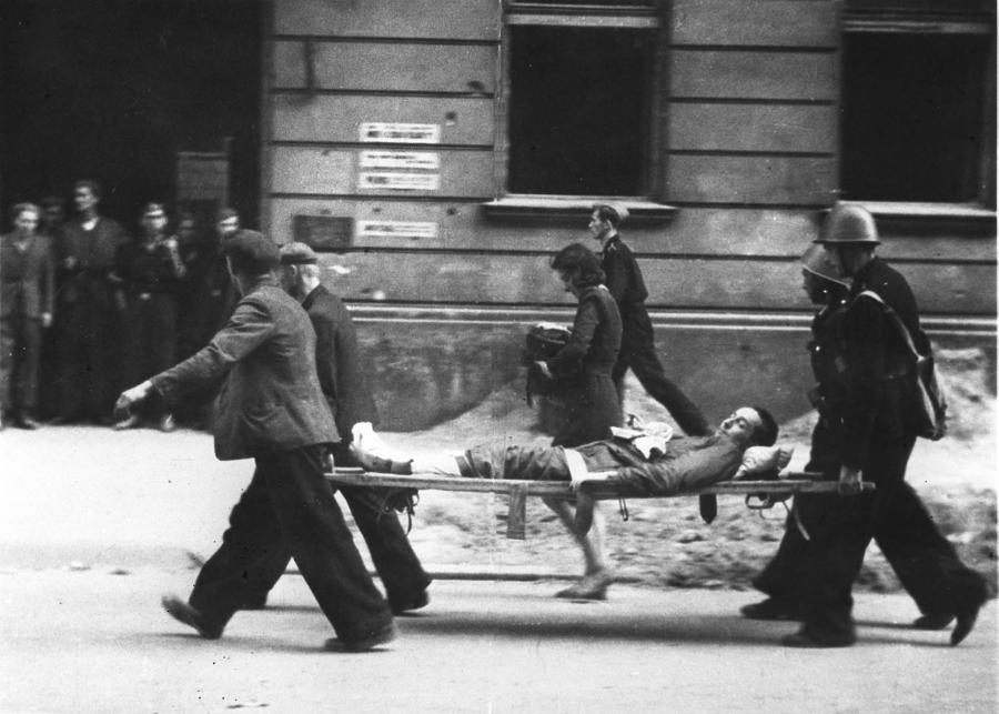 Zdjęcie z Powstania Warszawskiego