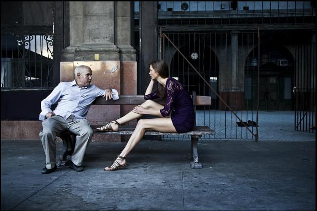 Steve McCurry z Karlie Kloss