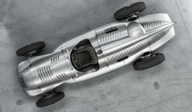Auto Union Silberpfeil Typ D Doppelkompressor
