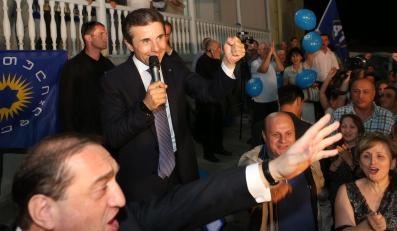 Bidzina Iwaniszwili, zwycięzca wyborów w Gruzji