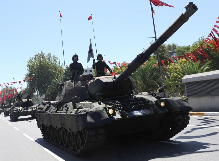 Czołg w Turcji