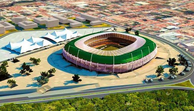 Fortaleza Stadion Castelao (makieta)