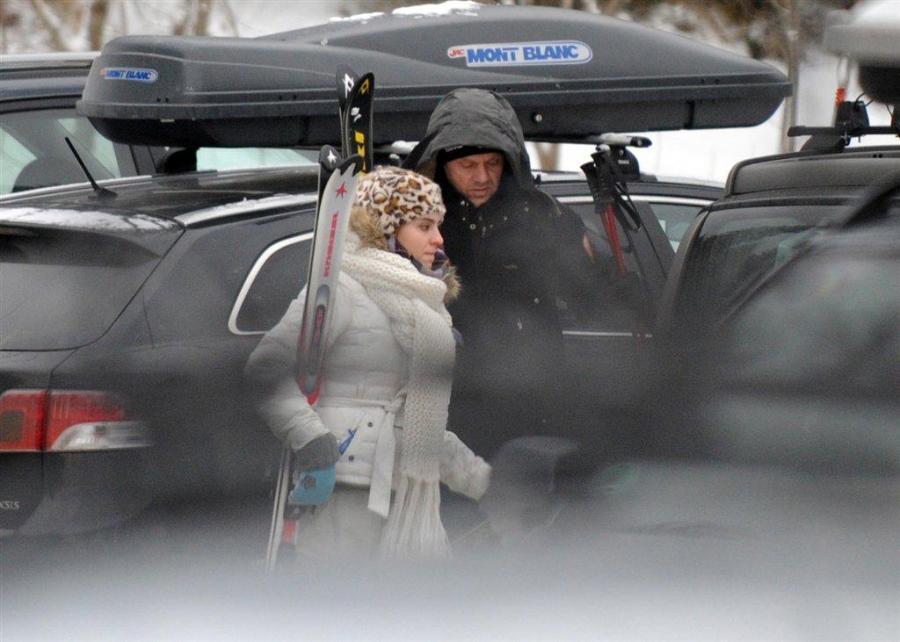 Paparazzi polują na Tuska w górach