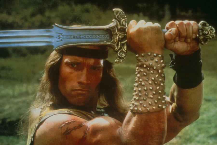 Arnold Schwarzenegger jako Conan