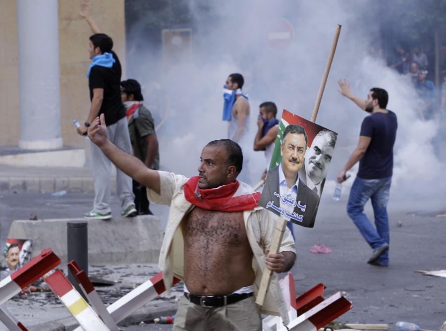 Niespokojnie w Bejrucie