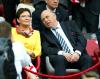 Ewa Kopacz i Grzegorz Lato na Euro 2012