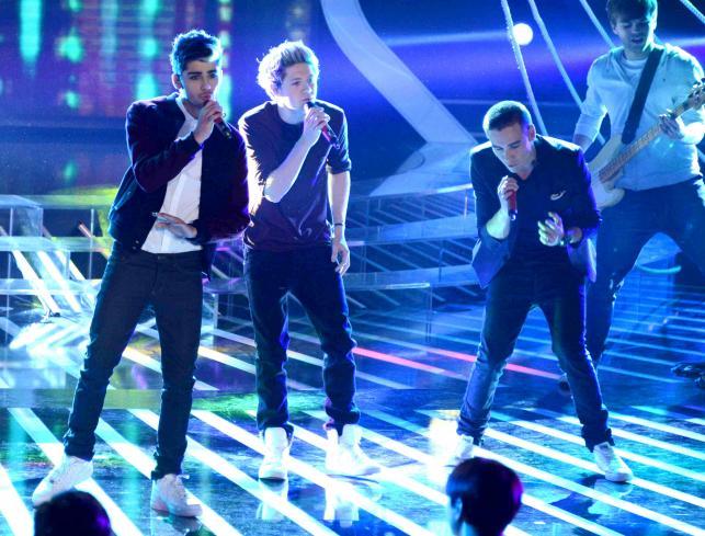 """One Direction byli gwiazdami włoskiej edycji programu """"X Factor"""""""