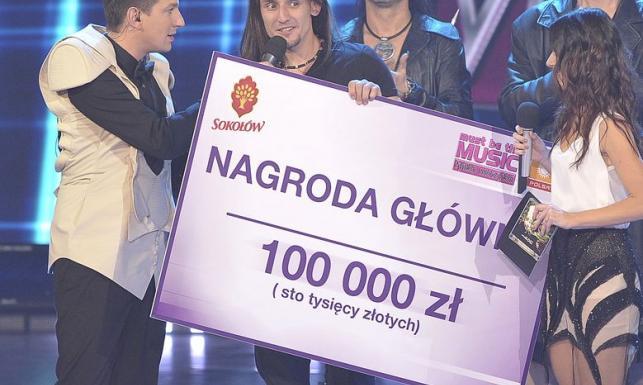 """Tomasz Kowalski zwycięzcą """"Must be the music"""""""