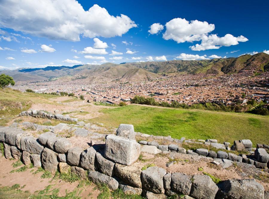 Ulewne deszcze uszkodziły fortecę Inków