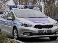 Nowa kia ceed w barwach polskiej policji