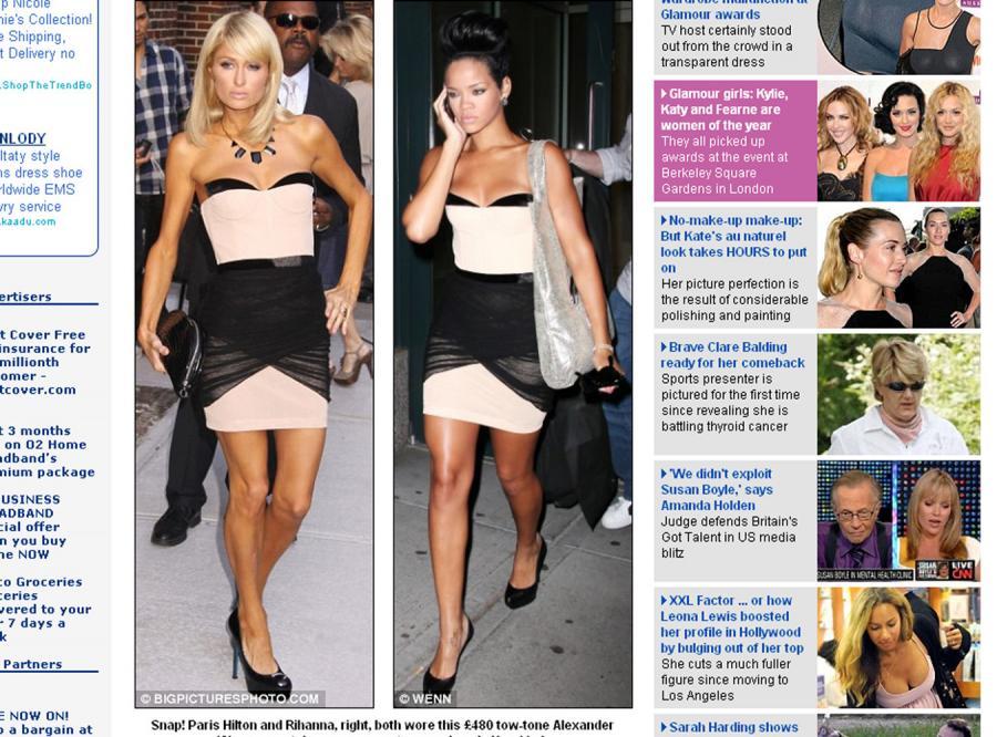 Paris vs Rihanna: która piękniejsza?