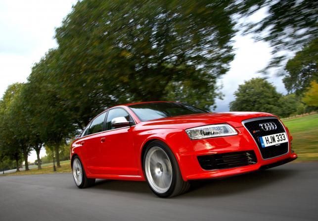 Audi RS6 produkowane w latach 2002-2011