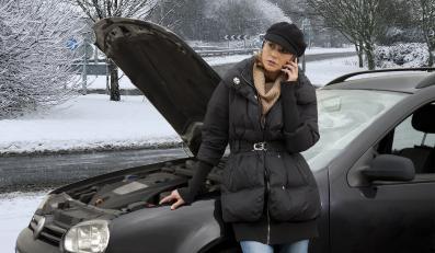 Silnik diesla w zimie