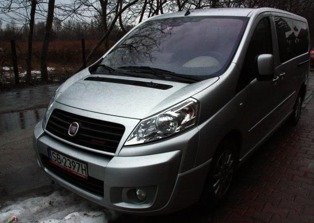 Fiat Scudo Panorama. Morderczy test dziennik.pl