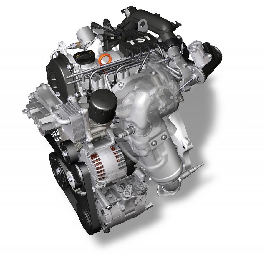 Nowy motor 1.2 TSI spala w trybie mieszanym 5,7 l paliwa na 100 km