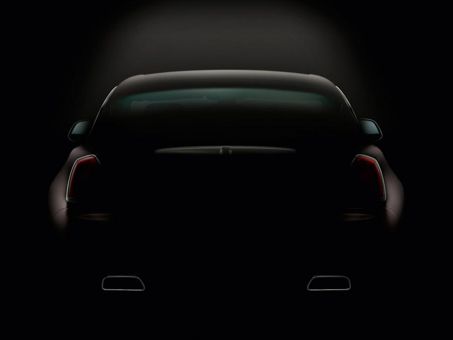 Rolls-Royce wraith od tyłu