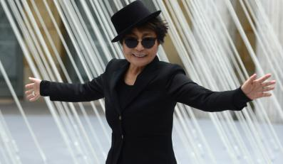 Jubilatka Yoko Ono świętowała w Berlinie